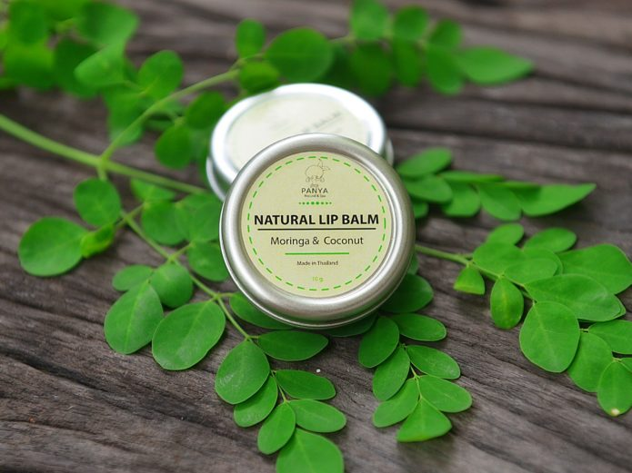 Natural Lip Balm Moringa & Coconut