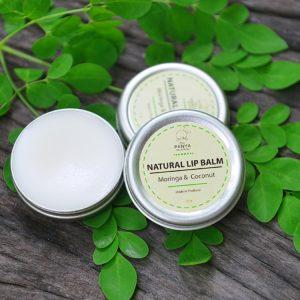 Natural Lip Balm Moringa & Coconut
